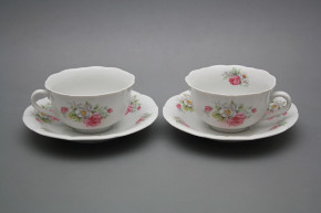 Cup low with saucer C1ZC1 Rokoko Delight BB