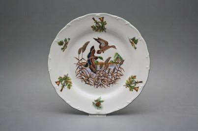 Flat plate 25cm Ofelia Mallard ducks FZL č.1