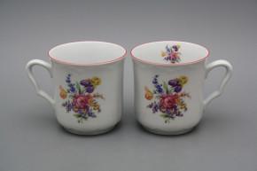 Mug Karel 0,27l Bouquet with irisies RL