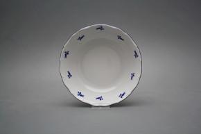 Salad dish 19cm Ofelia Blue roses AML