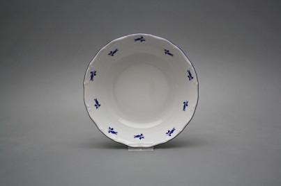 Salad dish 19cm Ofelia Blue roses AML č.1