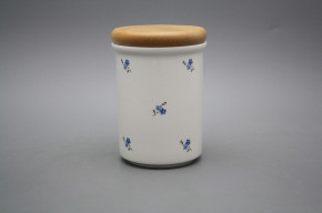 Box with wooden cover C - big Forget-me-not Sprays BB