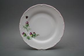 Flat plate 25cm Ofelia Thistle RL
