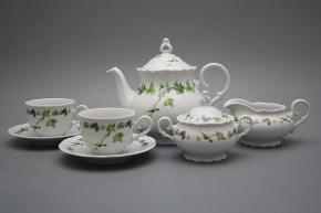 Tea set Ofelia Ivy 15-piece BB