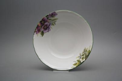 Deep dish 23cm Ofelia Pansy DZL č.1