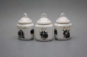 Spice jar 0,2l Rococo dolls GL