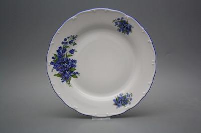 Flat plate 25cm Ofelia Forgel-me-not CAL č.1