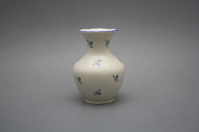 Vase 13,5cm Rokoko ECRU Forget-me-not Sprays AL