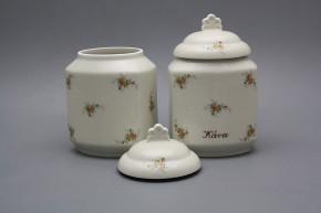 Box for foodstuffs 1,1l ECRU Tea roses BB