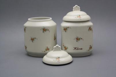 Box for foodstuffs 1,1l ECRU Tea roses BB č.1