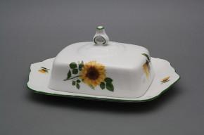 Butter dish square Ofelia Sunflowers ZL