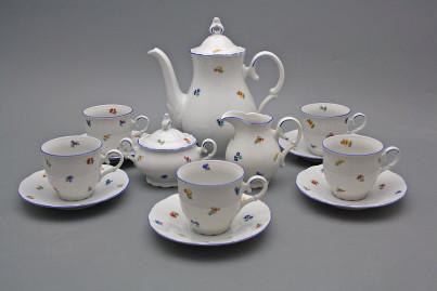 Coffee set Ofelia Sprays 15-piece AL č.1