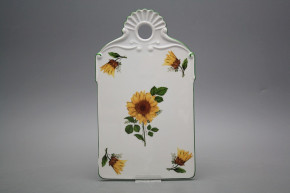 Relief cutting board Sunflowers ZL