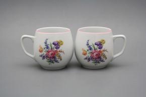 Mug Banak 0,3l Bouquet with irisies RL