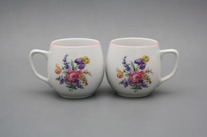 Mug Banak 0,3l Bouquet with irisies RL č.1
