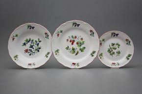 Plate set Verona Forest berries 12-piece FCL