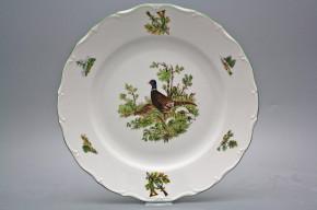 Flat round dish 31cm Verona Pheasant FZL