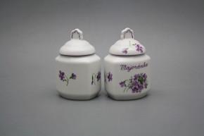 Spice jar 0,2l Violets FL