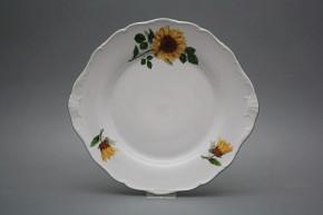 Cake plate 27cm Verona Sunflowers CZL