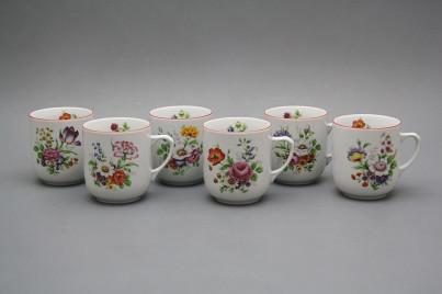 Mug Trojka 0,3l Meissen bouquet CL č.1