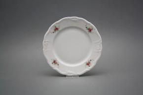 Dessert plate 19cm Marie Louise Pink roses EBB