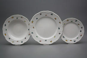 Plate set Marie Louise Sprays 12-piece AZL