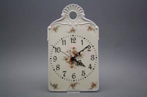 Cutting board clock ECRU Tea roses BB