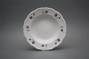 Deep plate 23cm Marie Louise Violets KBB
