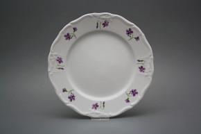 Flat plate 25cm Marie Louise Violets KBB