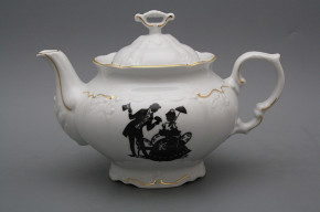 Teapot 1,6l Marie Louise Rococo dolls GL