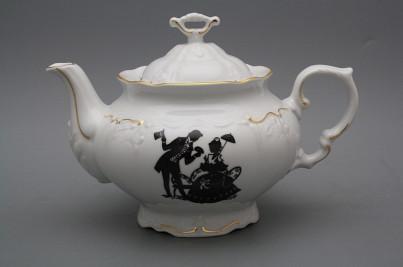 Teapot 1,2l Marie Louise Rococo dolls GL č.1
