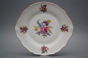 Cake plate 27cm Verona Bouquet with irisies GRL