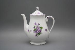 Coffeepot 1,25l Verona Violets FL