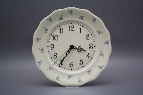 Plate clock Alaska ECRU Forget-me-not Sprays BB