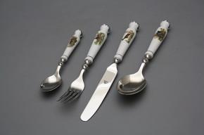 Set of cutlery Bohemia 1987 Gamekeepers 24-piece Zlistr BL