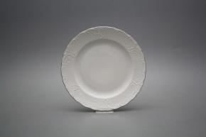 Dessert plate 19,5cm Opera Platinum