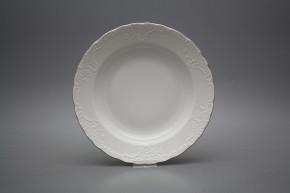 Deep plate 24cm Opera Platinum