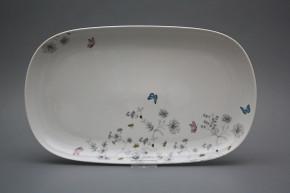 Oval dish 36cm Tom Secret garden BB
