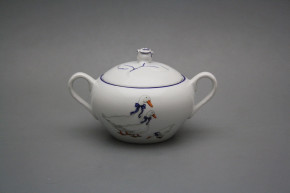 Sugar bowl 0,3l with handles Rokoko Geese ML