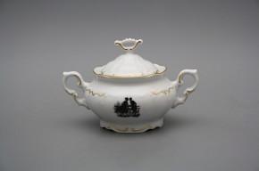 Sugar bowl 0,4l Marie Louise Rococo dolls GL