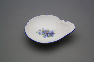 Shell dish small 12,5cm Forget-me-not AL č.1
