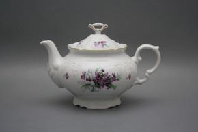 Teapot 1,2l Marie Louise Sweet violets GL