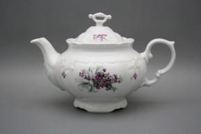 Teapot 1,6l Marie Louise Sweet violets BB