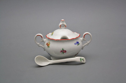 Mustard bowl 0,15l with spoon Ofelia Sprays CL č.1