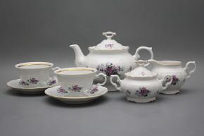 Tea set Marie Louise Sweet violets 15-piece GL