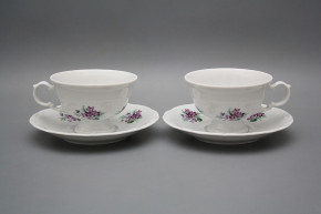 Tea cup 0,16l and saucer Maria Louise Sweet violets BB