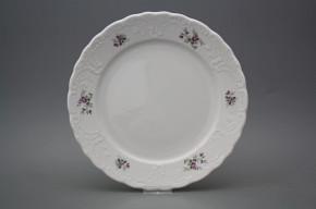 Flat plate 26cm Opera Scatter Violets BB