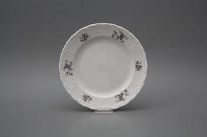 Dessert plate 19,5cm Opera Scatter Violets BB