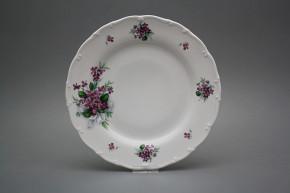 Flat plate 25cm Ofelia Sweet violets KBB