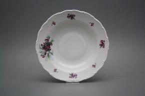 Deep plate 23cm Ofelia Sweet violets KBB